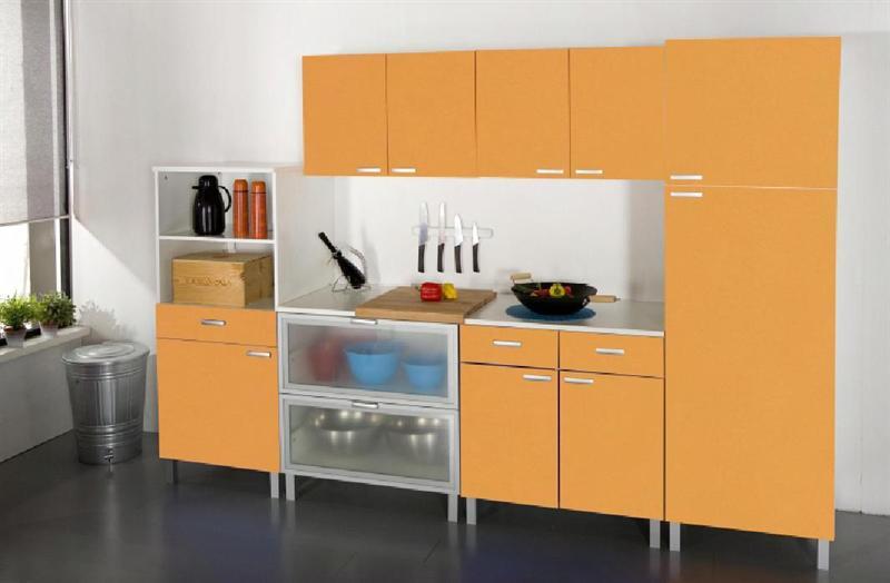 Basi e pensili cucina doremi arancio attrezzature - Pensili per cucina ...
