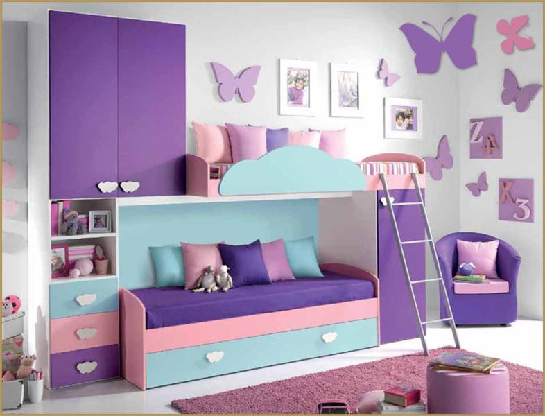 Camerette a soppalco camere bimbi arredamento - Camere da letto bellissime ...