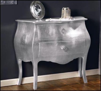 Como 39 foglia argento esaurito como 39 comodini for Negozi arredamento como