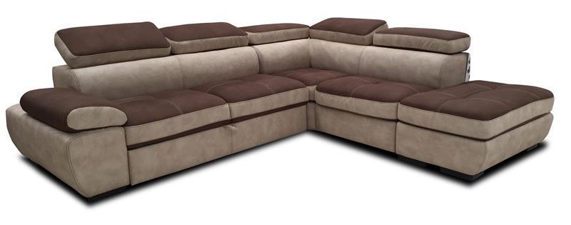 Divano angolare virgola grande divani poltrone for Divano letto grande