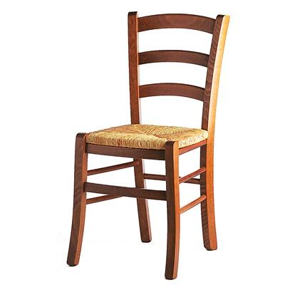 Sedia venezia seduta paglia tavoli sedie for Offerta sedie legno
