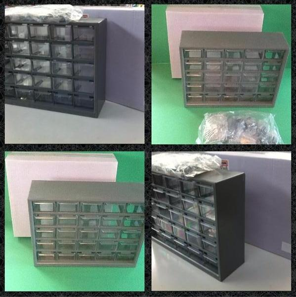 Cassettiere In Plastica Per Minuterie.Stock Lotto Cassettiere Da 25 Cassetti Per Minuteria Compralo